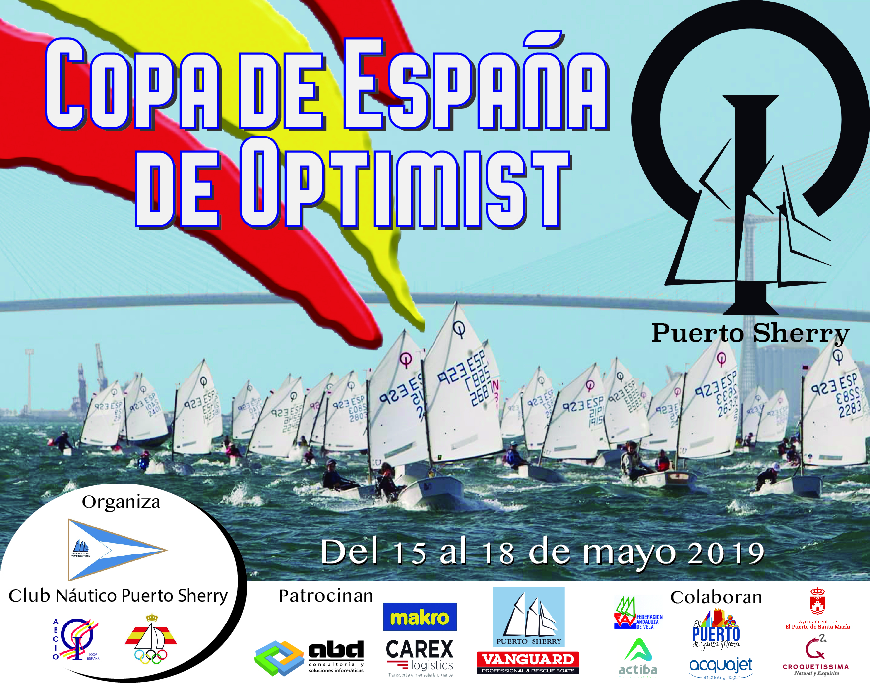 CARTEL Copa España Optimist CNPS 2019